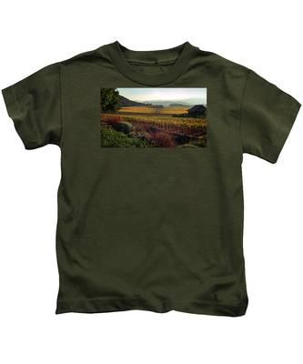Napa Valley California Kids T-Shirt