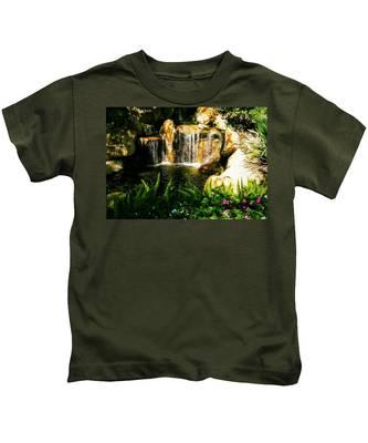 Natural Hidden Face Kids T-Shirt
