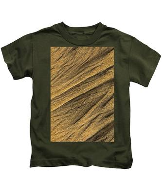Paterns In The Sand Kids T-Shirt