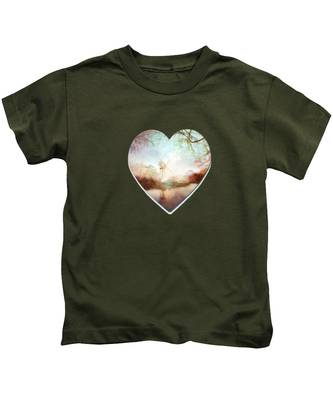 Porcelain Skies Kids T-Shirt