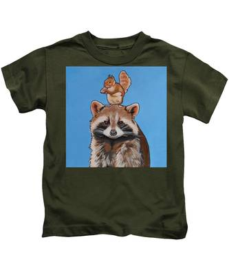 Rodney The Raccoon Kids T-Shirt