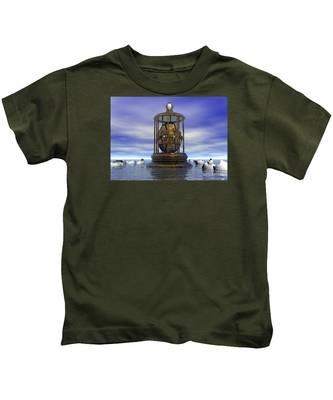 Sixth Sense - Surrealism Kids T-Shirt