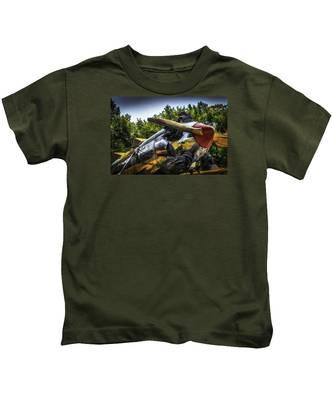 Static And Shiny Kids T-Shirt