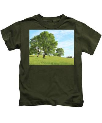 Summer Trees Kids T-Shirt