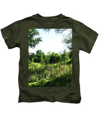 Summers Day Kids T-Shirt