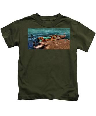 The Chris Craft Continental - 1958 Kids T-Shirt