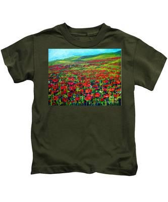 The Poppy Fields Kids T-Shirt