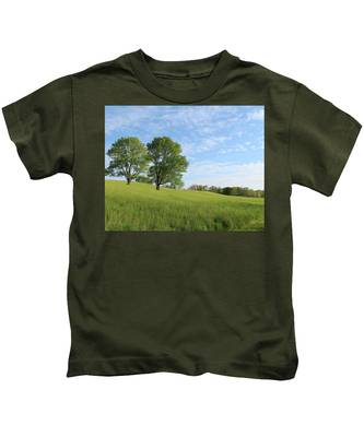 Summer Trees 3 Kids T-Shirt