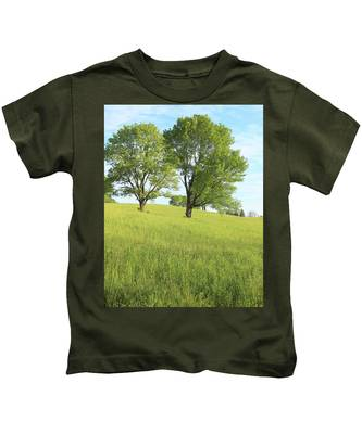 Summer Trees 2 Kids T-Shirt