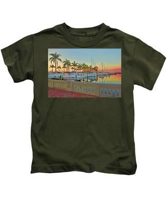 Twin Dolphin Marina Kids T-Shirt