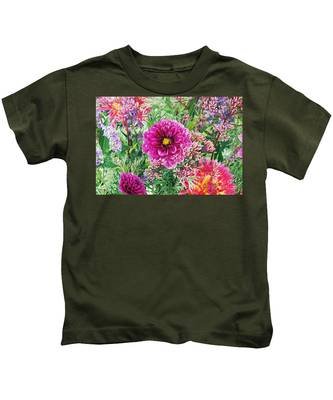 Vintage Brocade Kids T-Shirt