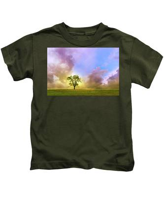 Waiting For The Storm Kids T-Shirt