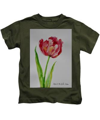 Watercolor Series No.  228 Kids T-Shirt