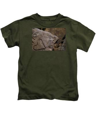 Written In Stone Kids T-Shirt