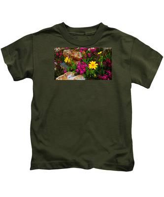 Yosemite Wildflowers Kids T-Shirt