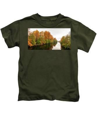 Courtenay River Fall Kids T-Shirt