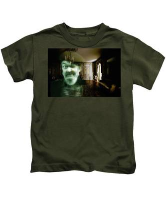Ghost Of Dr. John Kids T-Shirt