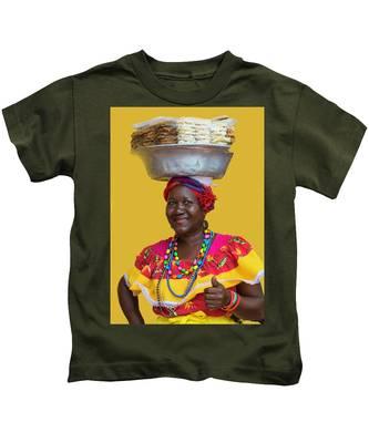 Los Palenques De Cartagena De Indias Kids T-Shirt