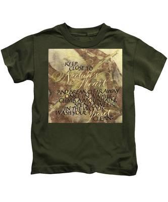 Nature's Heart Kids T-Shirt