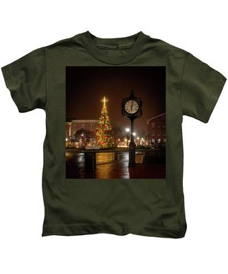 Night On The Square Kids T-Shirt