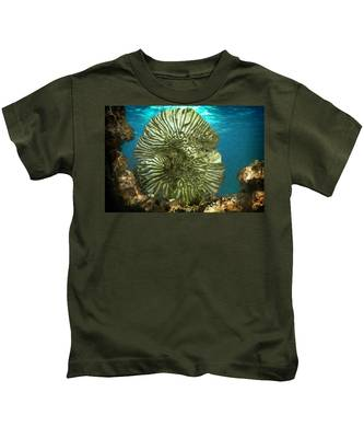 Ocean With Its Life Underground Kids T-Shirt