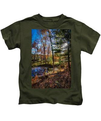 October Late Afternoon Kids T-Shirt