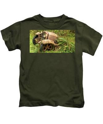 Old Logging Equipment-2 Kids T-Shirt