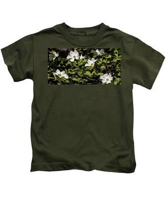 Pacific Dogwoods Kids T-Shirt