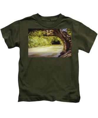 River Banks In Trelawny Jamaica Kids T-Shirt