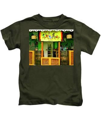 Roadside Watering Hole Kids T-Shirt