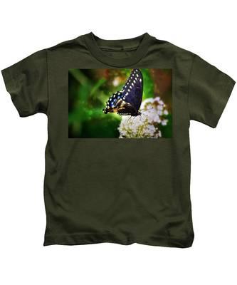 Swallowtail Butterfly Kids T-Shirt