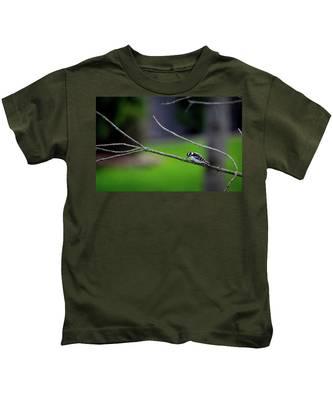 The Downey Woodpecker Kids T-Shirt