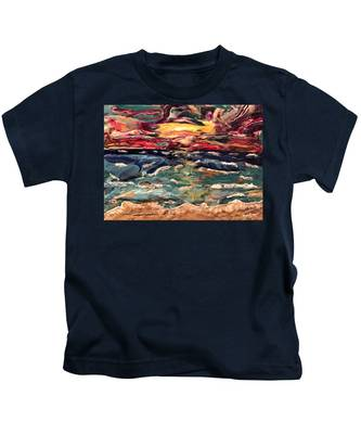 Capricious Sea Kids T-Shirt