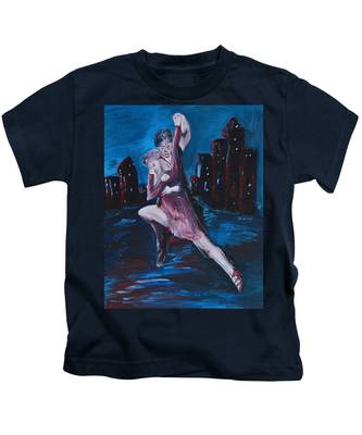 Dance The Night Away Kids T-Shirt