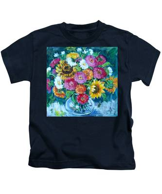 Floral Explosion No.1 Kids T-Shirt