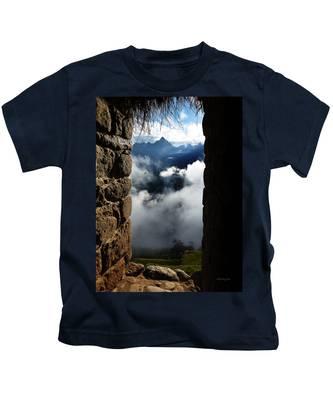 Machu Picchu Peru 4 Kids T-Shirt