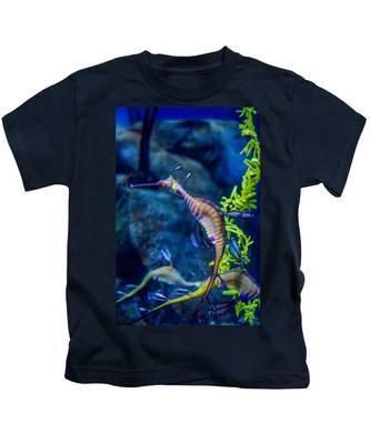 Weedy Seadragon Kids T-Shirt