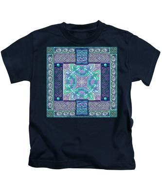 Celtic Atlantis Opal Kids T-Shirt