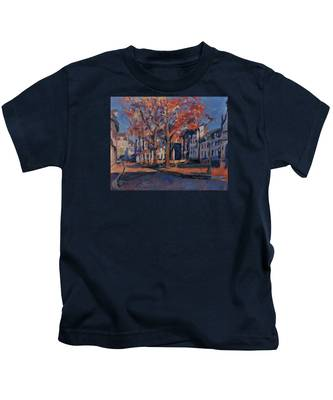 Autumn On The Square Of Our Lady Maastricht Kids T-Shirt
