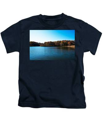 Autumn The In Loess Hills Kids T-Shirt