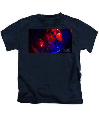 Ball Of Color - Red Kids T-Shirt