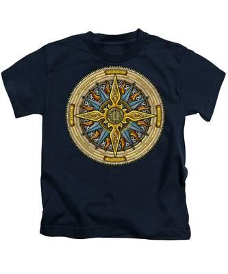 Celtic Compass Kids T-Shirt