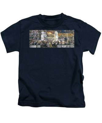 Detroit Industry   North Wall Kids T-Shirt