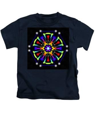 Earthscape Six Kids T-Shirt by Derek Gedney