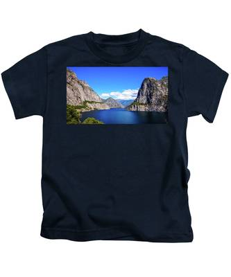 Hetch Hetchy Reservoir Yosemite Kids T-Shirt