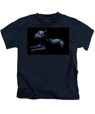 Highland Terrier Kids T-Shirt