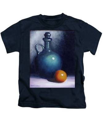 Jug And Orange. Kids T-Shirt