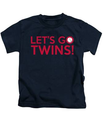 Let's Go Twins Kids T-Shirt