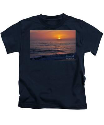 October Set Kids T-Shirt by Bridgette Gomes