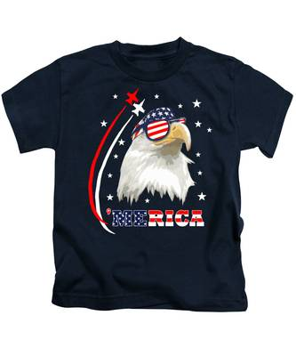 Bald Eagle Kids T-Shirts